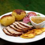 Pernil ou longe de porc rôtie