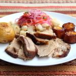 Porc rôti à l'Equatorienne
