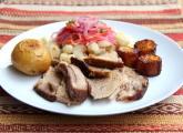Porc rôti cuit lentement