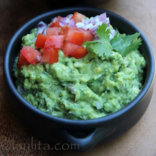 La recette du guacamole