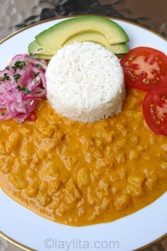 Le ragoût de boeuf style équatorien guatita