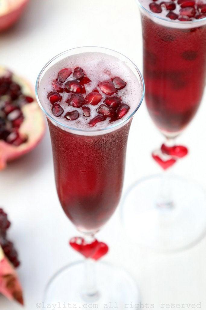 Cocktail à la grenade