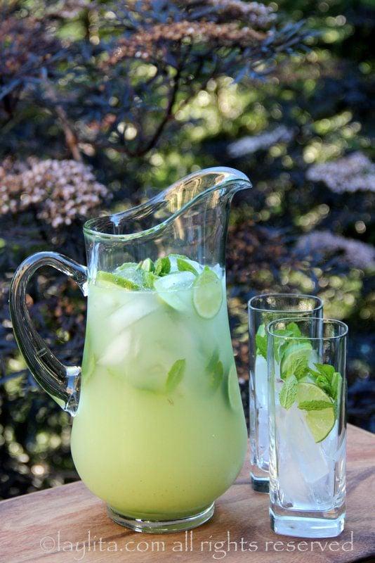 Limonade citron vodka