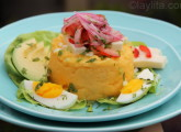 Molo ou purée de pommes de terre à l'équatorienne