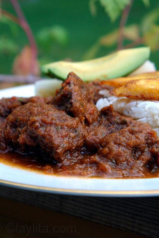 Ragoût de viande au tamarin {Seco de carne}