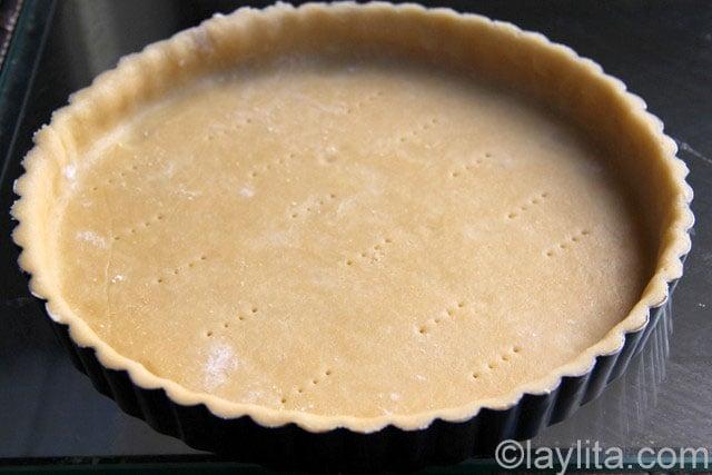 Comment faire une pâte à tarte sucrée