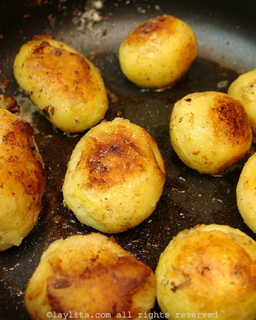 Pommes de terre au berre