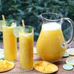 Limonade (jus) de mangue
