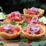 Ceviche de saumon et thon style hawaïen Poke