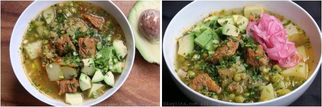 étapes et méthodes de préparation soupe quinoa 2