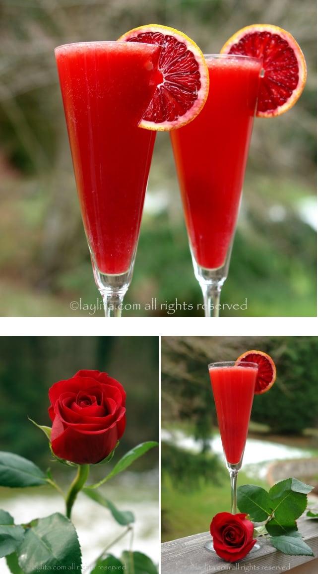 idée de cocktail pour la Saint Valentin