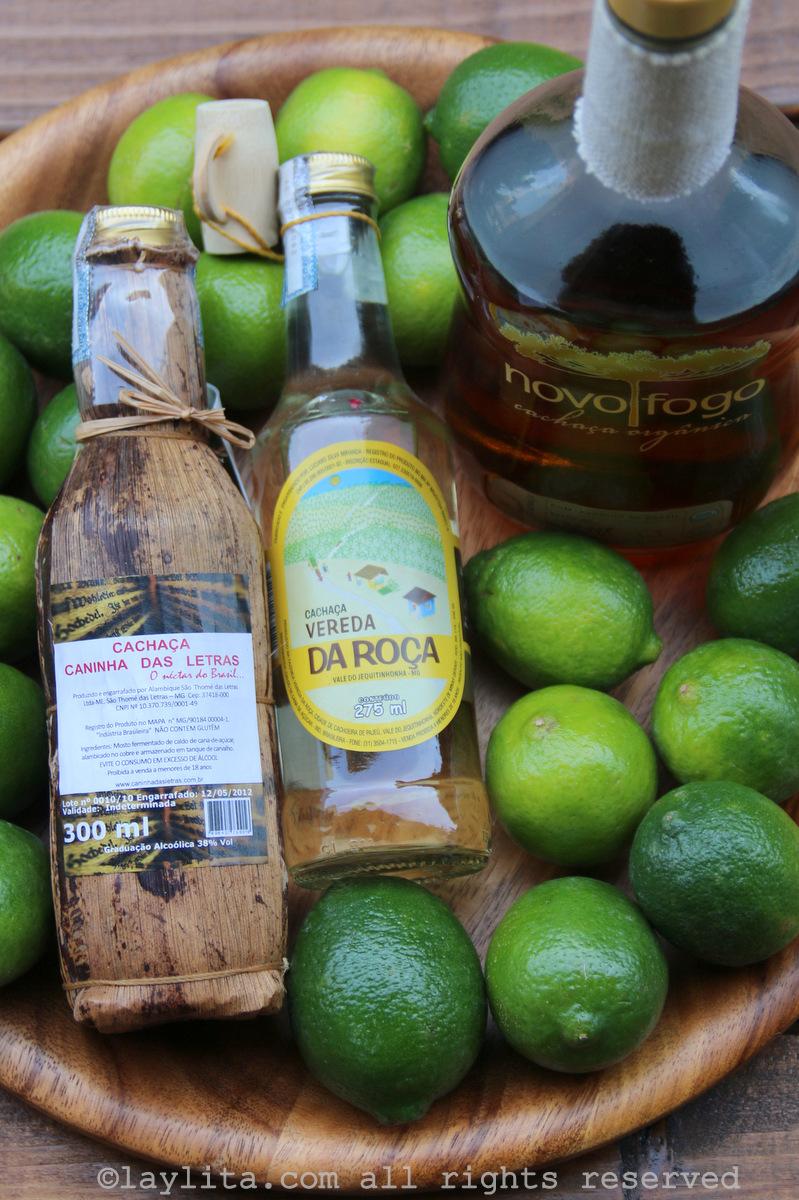 Alcool de cachaça pour la caïpirinha