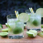Cocktail caïpirinha classique
