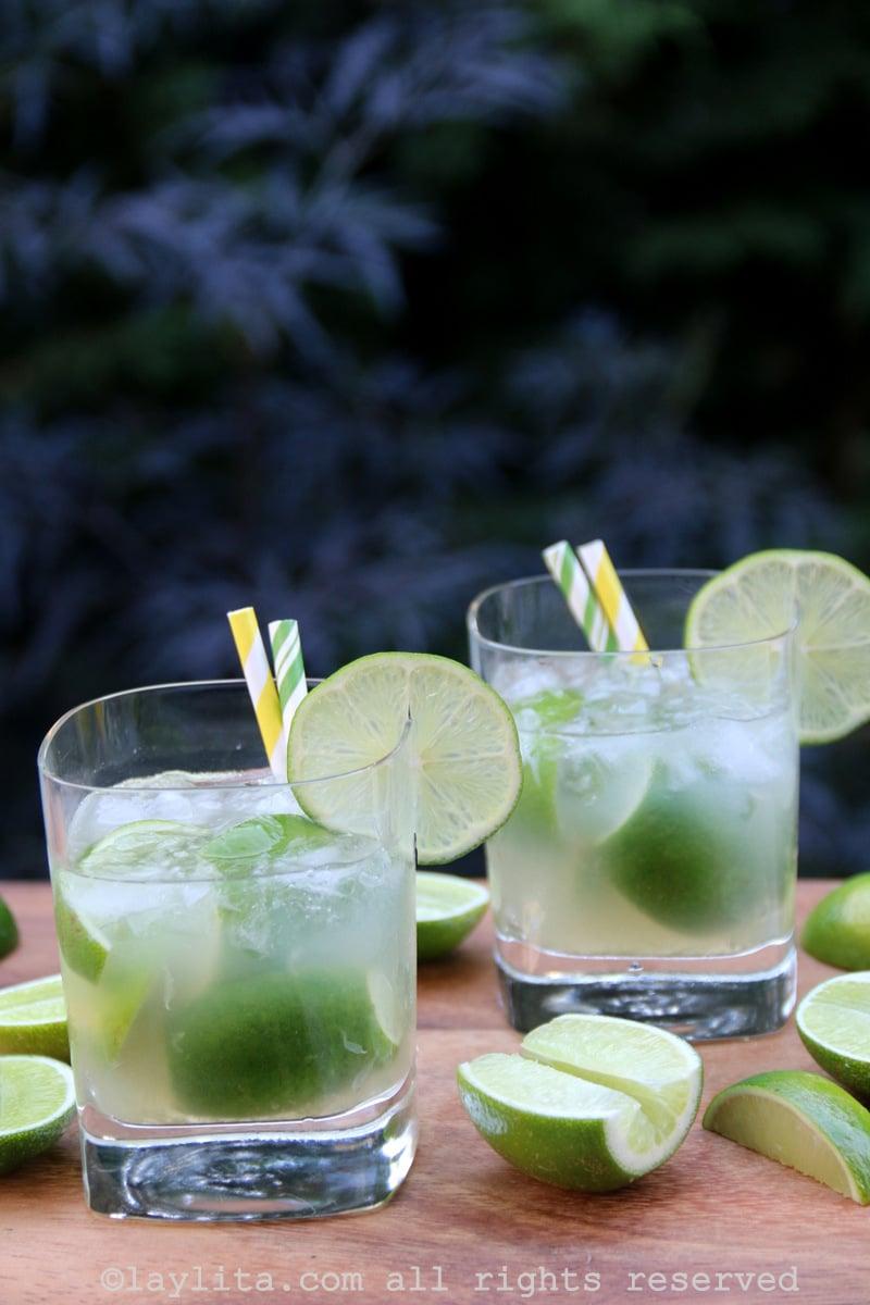 Recette du cocktail caïpirinha