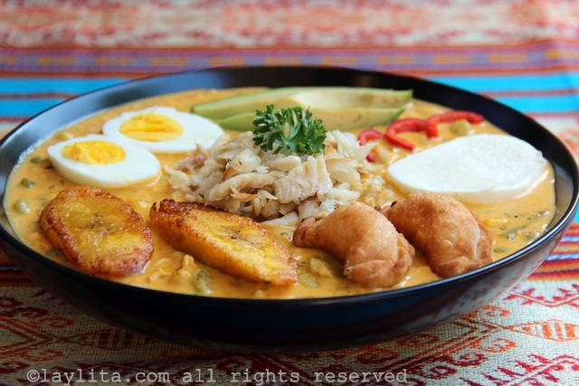Soupe Equatorienne Traditionnelle de Pâques