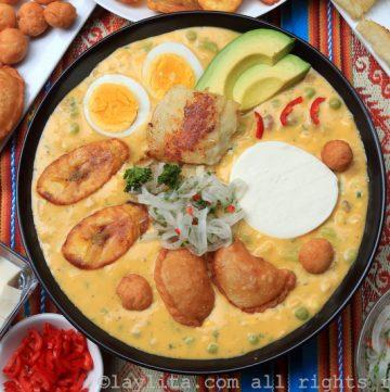 Soupe de morue sud américaine Fanesca