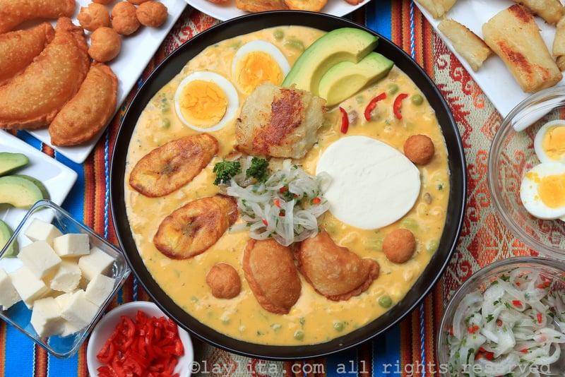 Soupe Fanesca Equatorienne