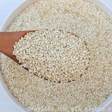 Nutrition du quinoa