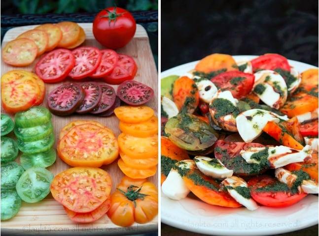 Tomates pour salade caprese