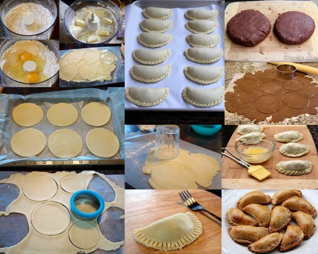 Toutes les pates pour empanadas