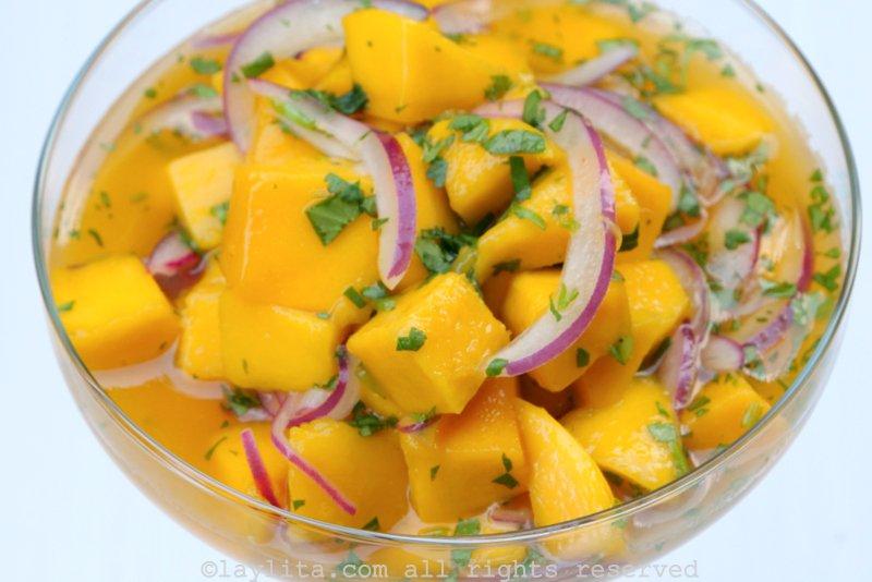 ceviche de fruit tropical