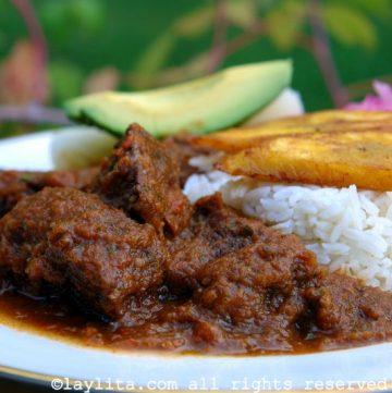 Ragoût de viande au tamarin - Seco de carne ecuatoriano