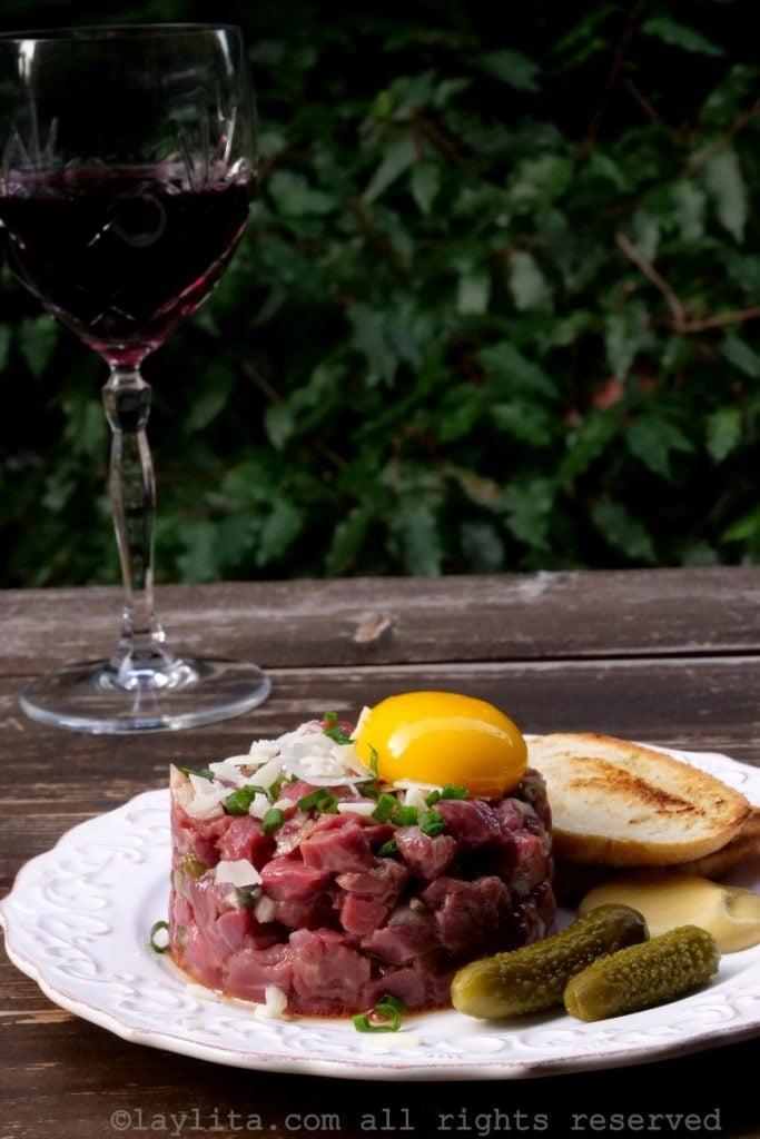 Recette classique du steak tartare