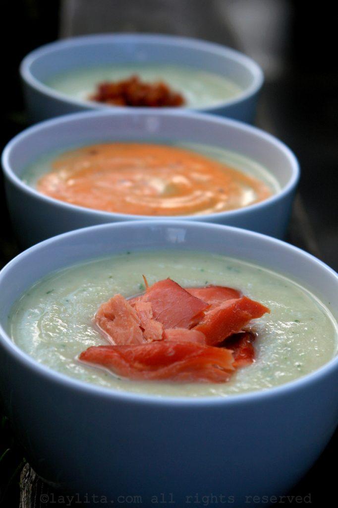 Soupe ou potage de céleri-rave