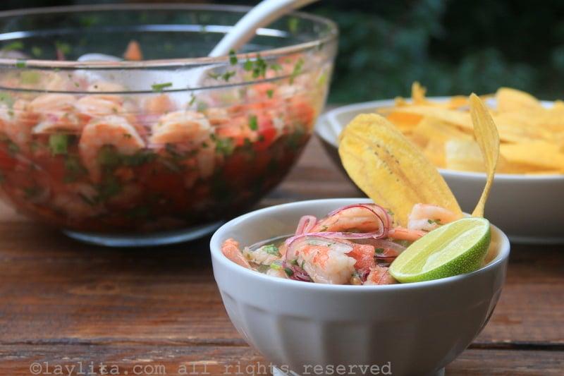 How to Make Ecuadorian Shrimp Ceviche forecasting