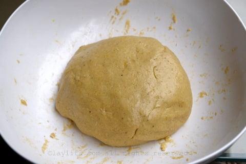 Como hacer la masa de las tortillas de verde ecuatorianas