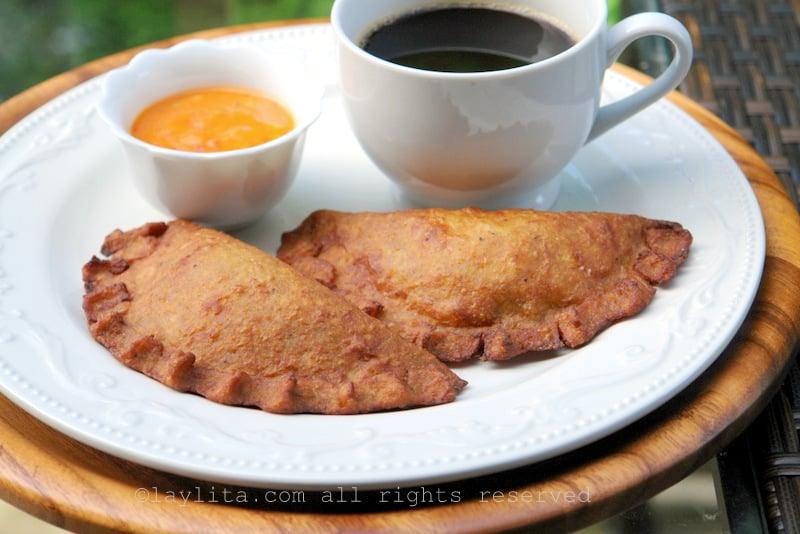 Empanadas de verde or plantain empanadas