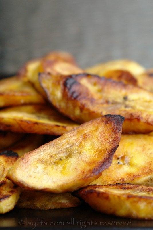 Bananes plantain frites à la poêle