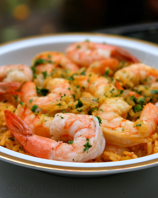 Arroz Con Camarones Shrimp Rice