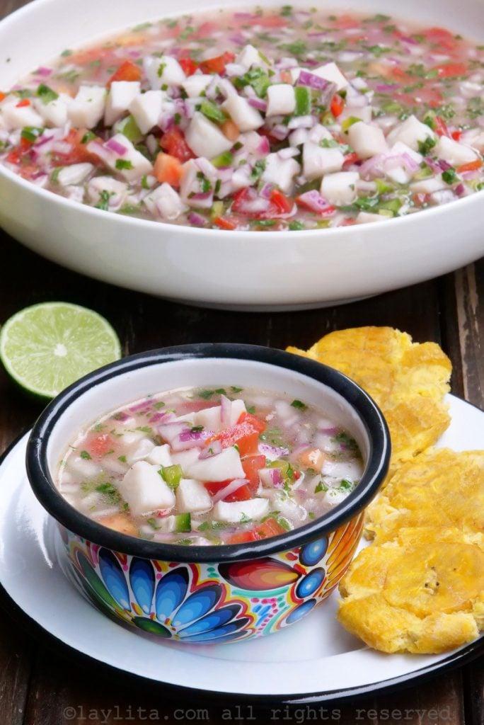 Best recipe for Ecuadorian fish ceviche