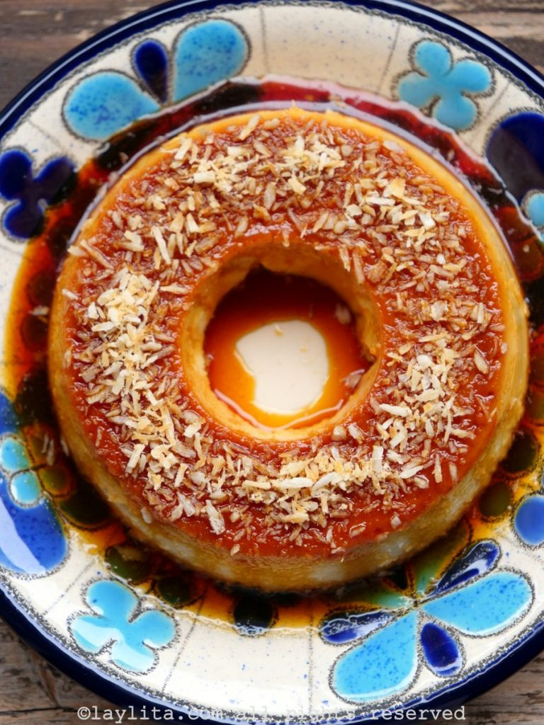 Easy recipe for coconut flan