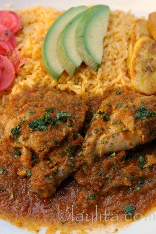 Seco De Pollo Or Chicken Stew Recipe Laylita S Recipes