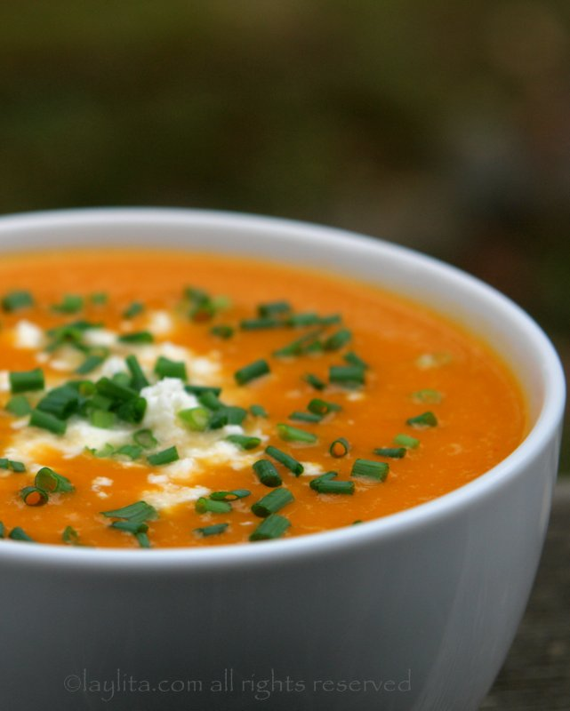 Pumpkin squash soup recipe