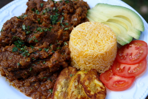 Seco de chivo or goat stew