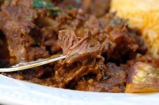 Seco de chivo or Ecuadorian braised goat stew