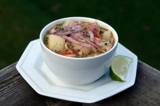 Ecuadorian fish soup