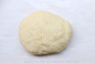 Remove the dough from the food processor, form a ball, and let it rest for about an hour