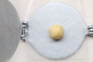 You can also use a tortilla press to make the empanada discs