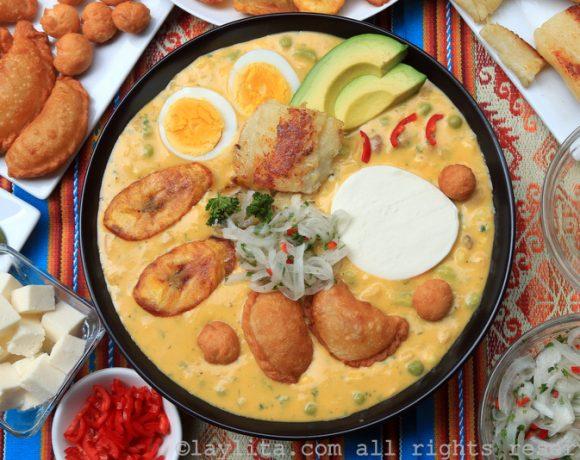 Fanesca ecuatoriana: Ecuadorian Easter soup