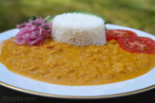 Ecuadorian tripe stew recipe