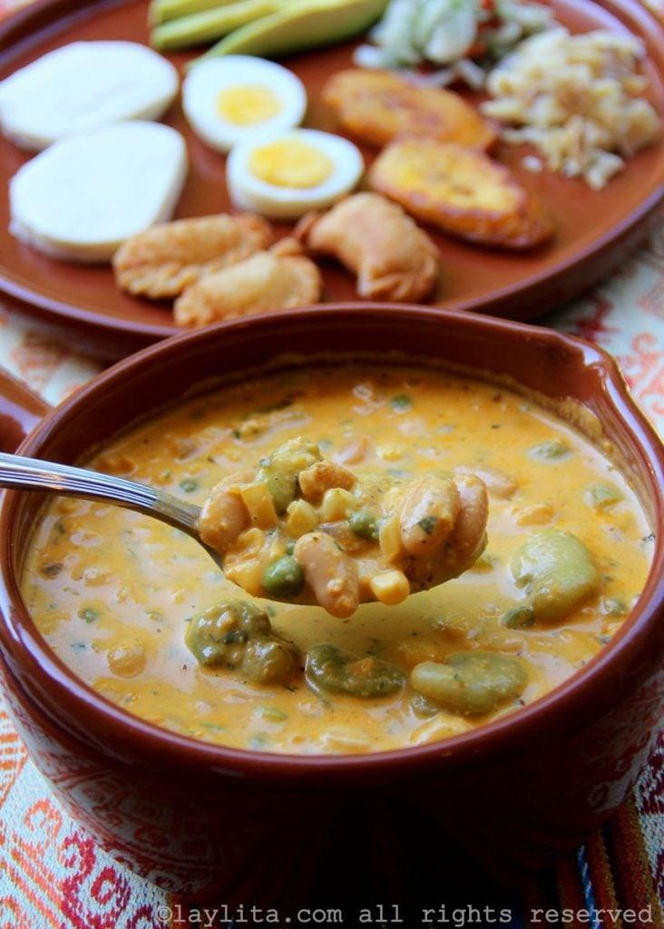 Ecuadorian Fanesca easter soup