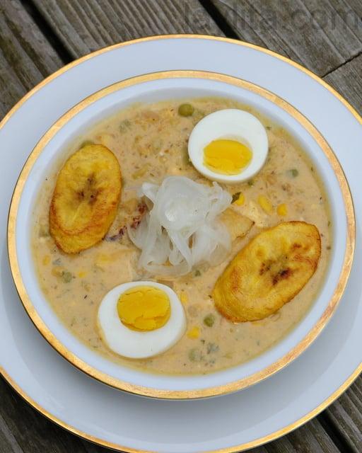 Sopa de Páscoa equatoriana