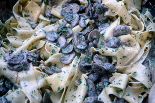 Mushroom pastas