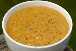 Ecuadorian salsa de mani