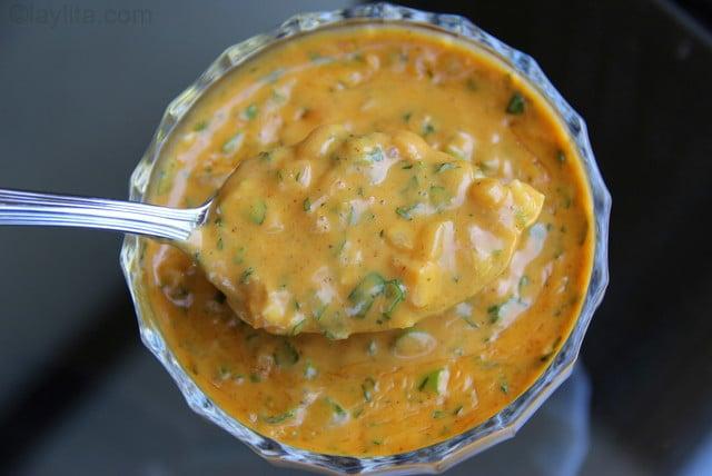 Salsa de mani or peanut sauce