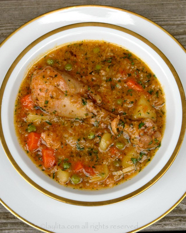 Aguado chicken rice soup